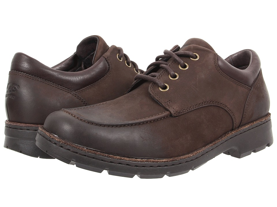 UGG - Burns (Stout Leather) Men's Lace up casual Shoes