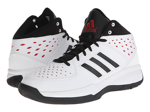 adidas - Court Fury (FTWR White/Core Black/Scarlet) Men