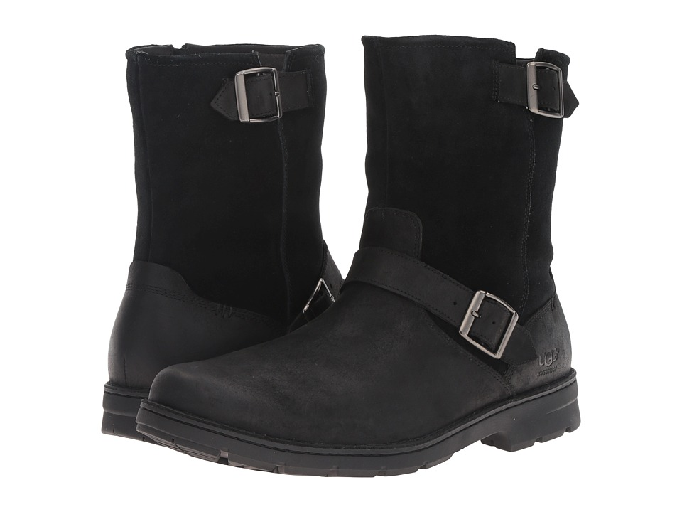UGG Messner (Black Leather) Men