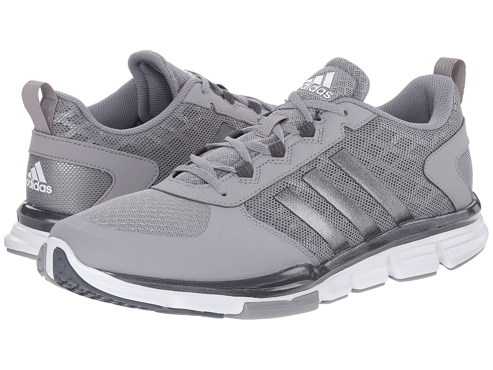 adidas - Speed Trainer 2 (Light Onix/Carbon Metallic S14/FTWR White) Running Shoes