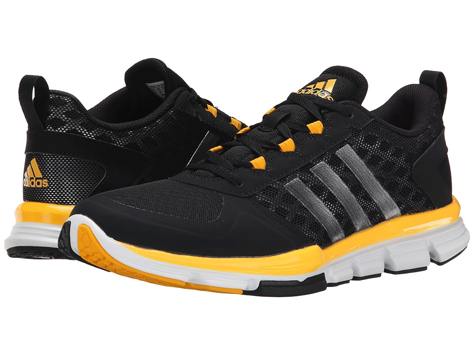 adidas - Speed Trainer 2 (Core Black/Carbon Metallic S14/Collegiate Gold) Running Shoes
