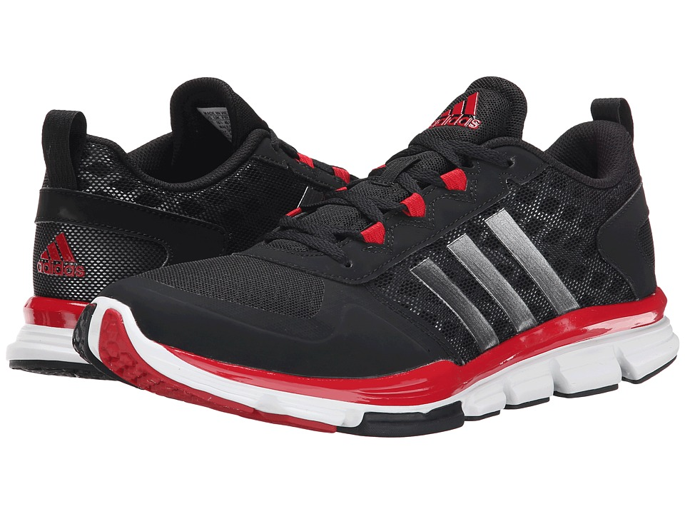 adidas - Speed Trainer 2 (Core Black/Carbon Metallic S14/Power Red) Running Shoes