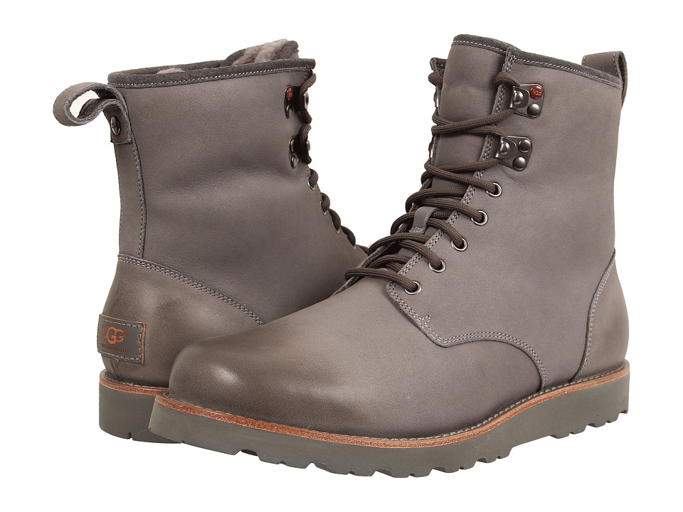UGG - Hannen TL (Metal Leather) Men's Lace-up Boots