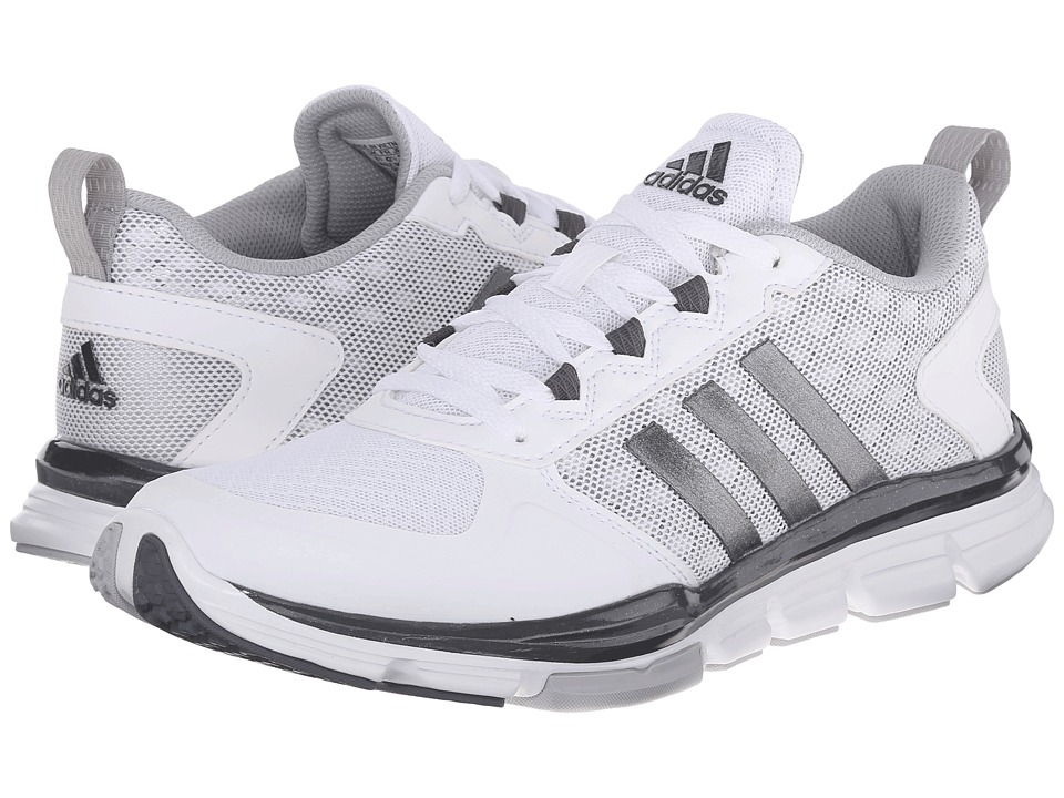 adidas - Speed Trainer 2 (FTWR White/Carbon Metallic S14/Clear Onix) Running Shoes