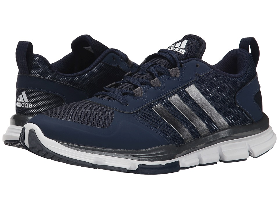 adidas - Speed Trainer 2 (Collegiate Navy/Carbon Metallic S14/Tech Grey Metallic) Running Shoes