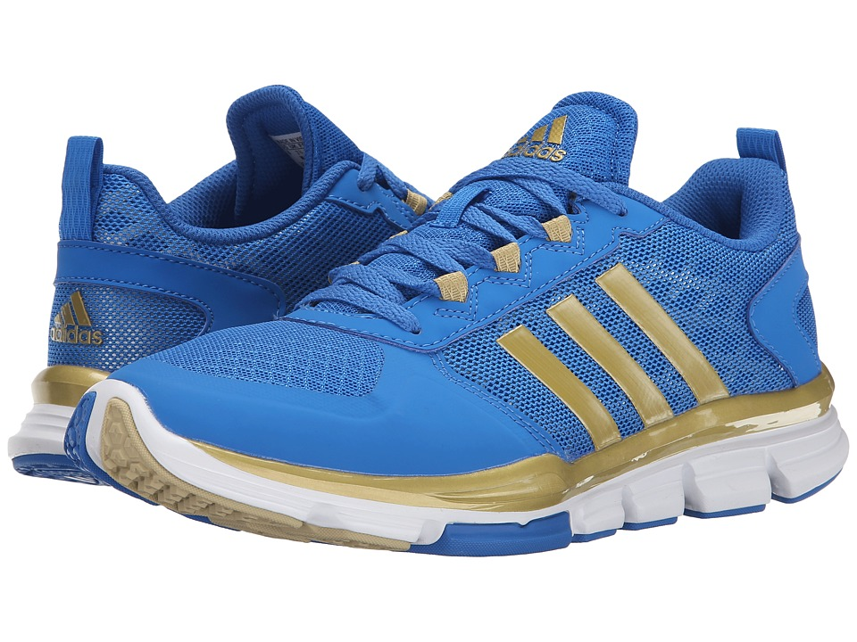 adidas - Speed Trainer 2 (Bright Royal/Gold Metallic/Tech Grey Metallic S14) Running Shoes