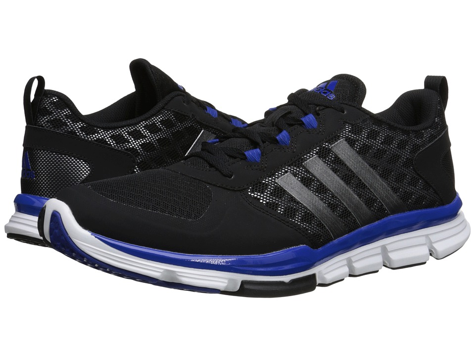 adidas - Speed Trainer 2 (Core Black/Carbon Metallic S14/Collegiate Royal) Running Shoes