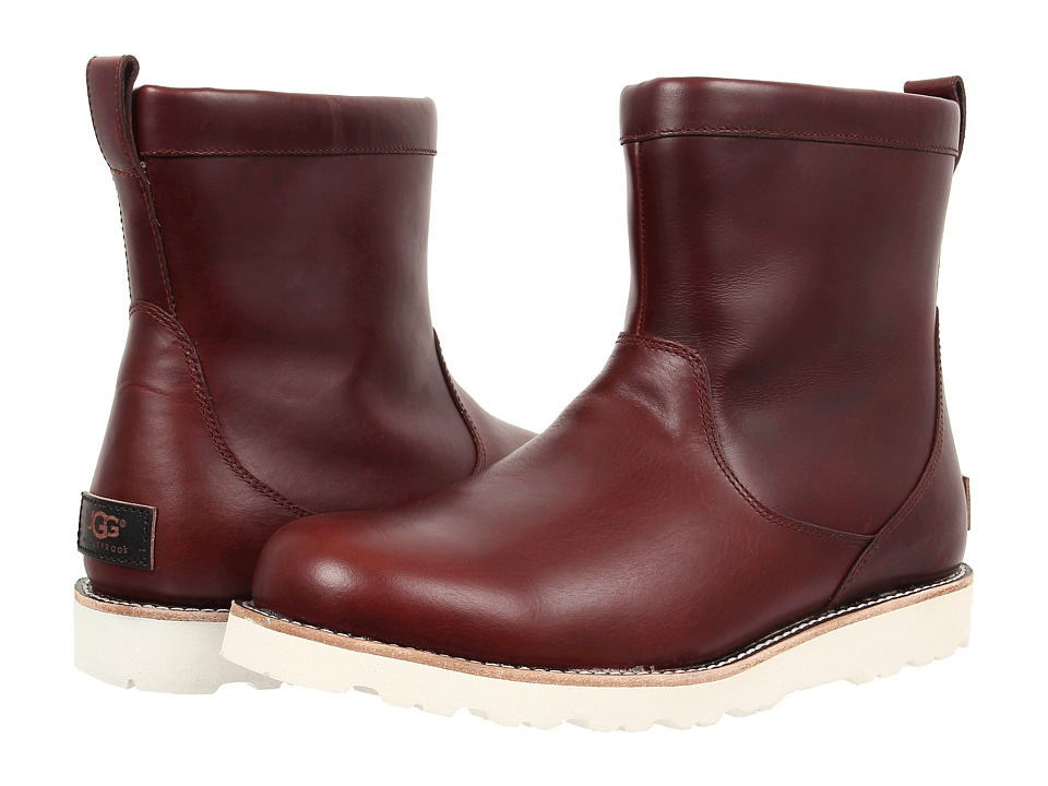 UGG - Hendren TL (Cordovan Leather) Men's Pull-on Boots