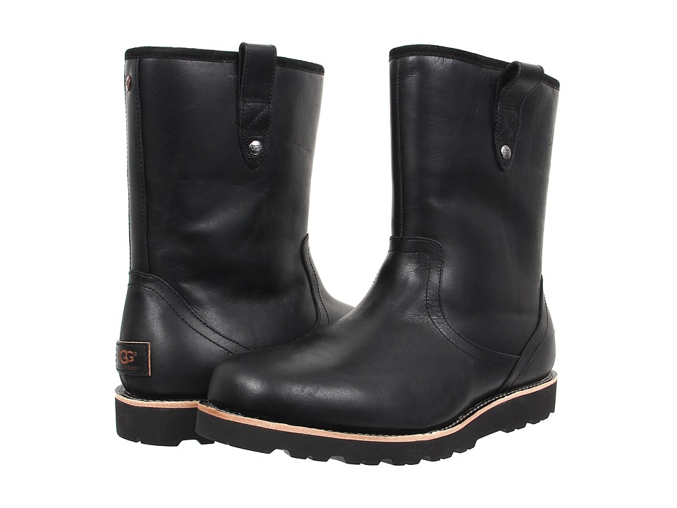 UGG Stoneman TL (Black Leather) Men