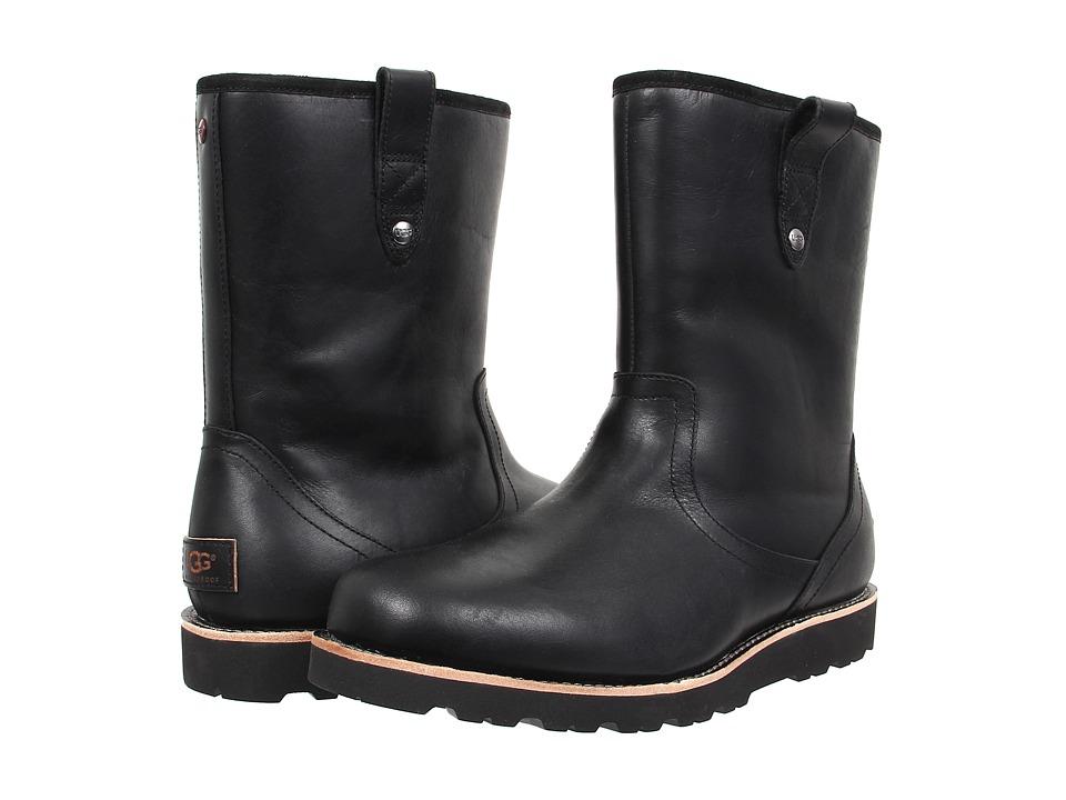 UGG Stoneman TL (Black Leather) Men