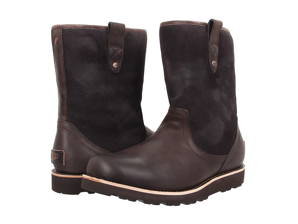 UGG - Stoneman TL (Stout Leather) Men's Pull-on Boots
