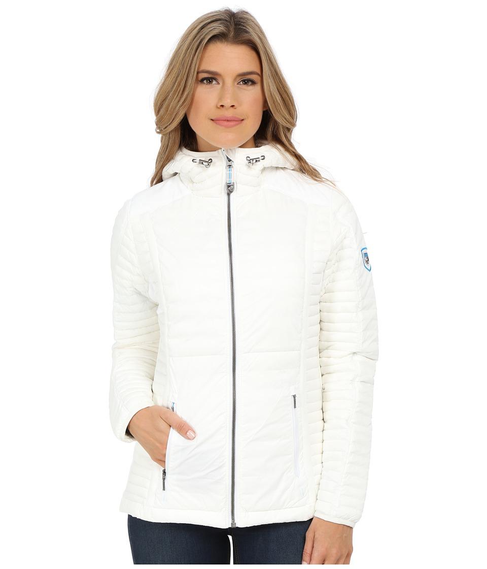 Kuhl - Spyfire Hoodie Coat (White) Women's Coat