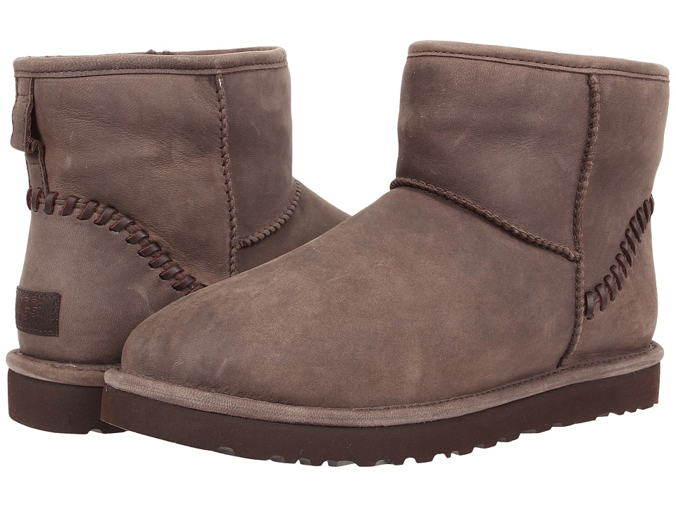 UGG - Classic Mini Deco Capra (Chocolate Leather) Men