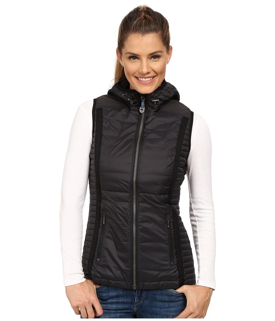 KUHL - Spyfire Hooded Vest (Raven) Women's Vest