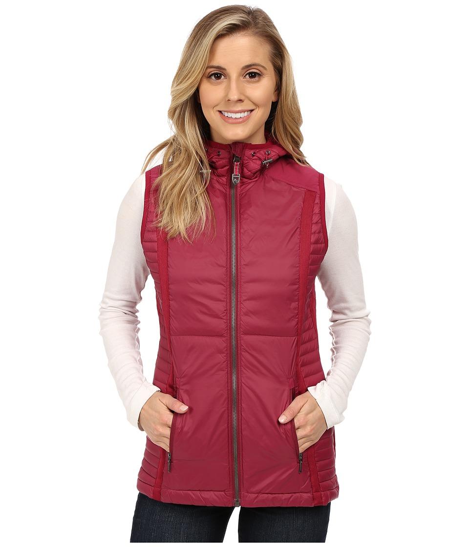 KUHL - Spyfire Hooded Vest (Sangria) Women's Vest