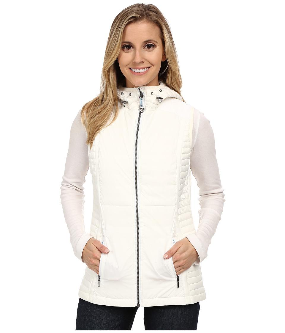 KUHL - Spyfire Hooded Vest (White) Women's Vest