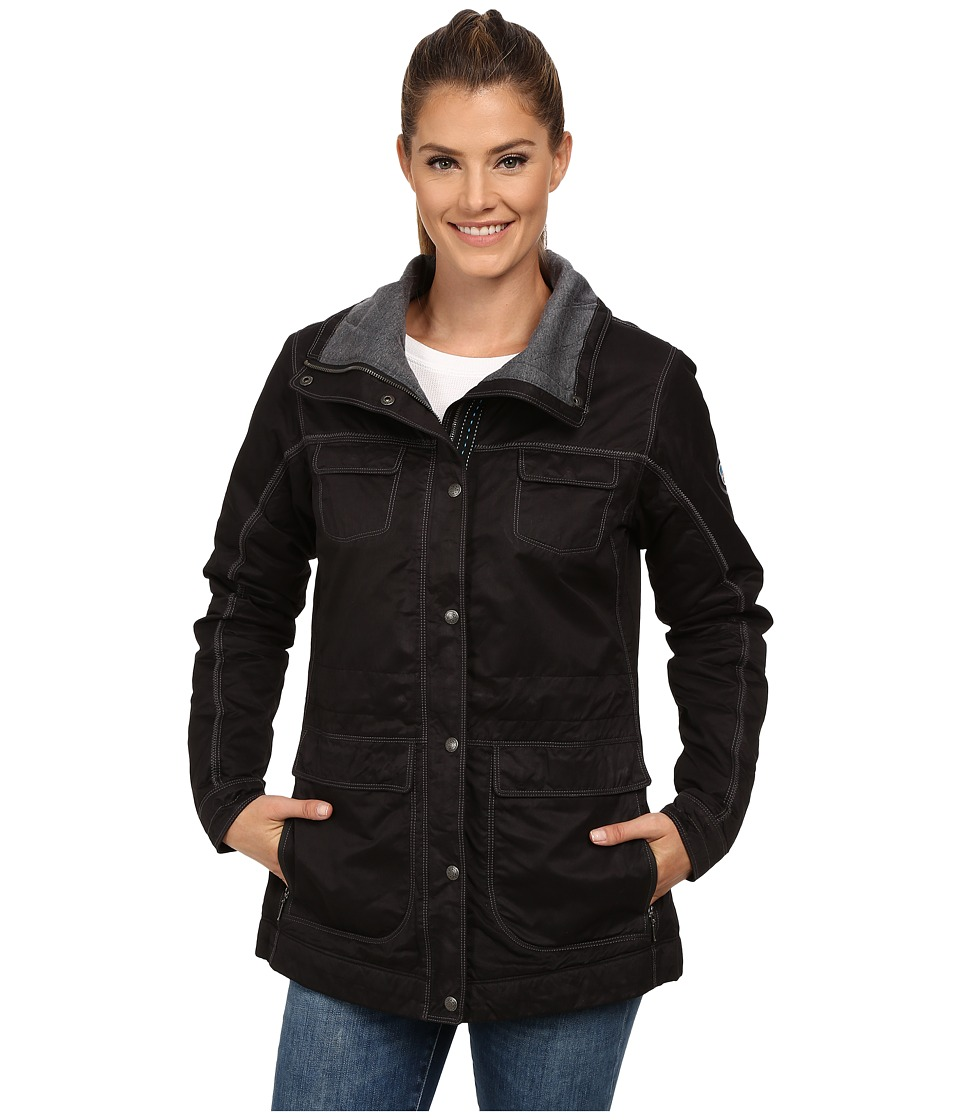 KUHL - Lena Insulated Jacket (Raven) Women's Coat