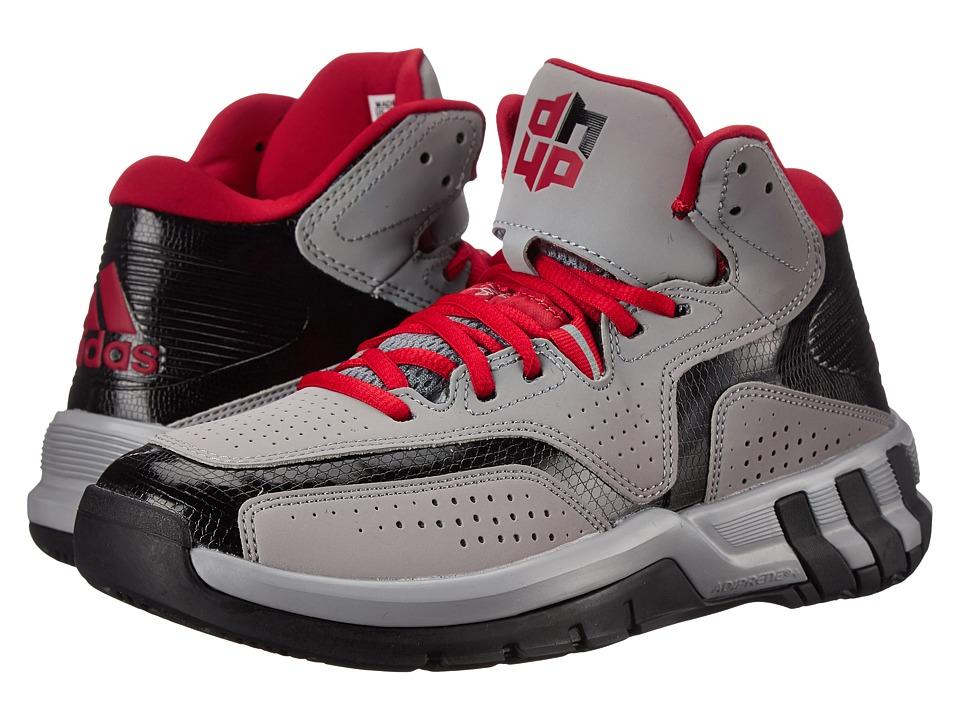 adidas - D Howard 6 (Light Onix/Scarlet/Black) Men's Basketball Shoes