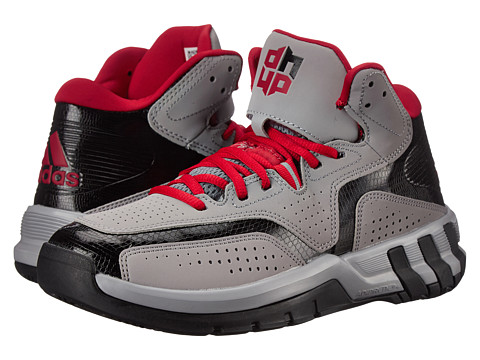adidas - D Howard 6 (Light Onix/Scarlet/Black) Men