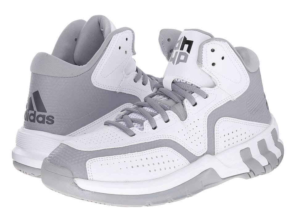 adidas D Howard 6 (White/Night Metallic/Light Onix) Men