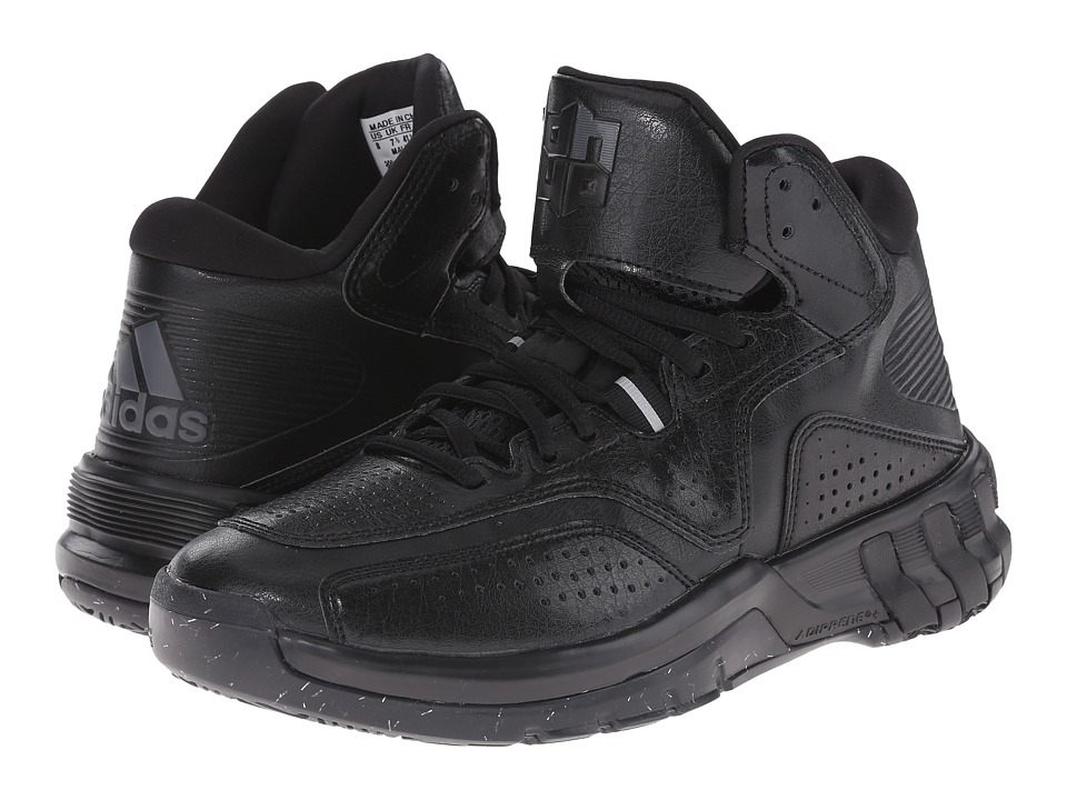 adidas - D Howard 6 (Black/Night Metallic) Men