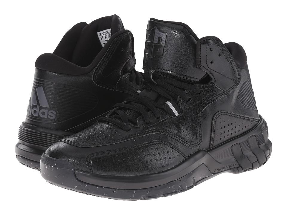 adidas - D Howard 6 (Black/Night Metallic) Men's Basketball Shoes