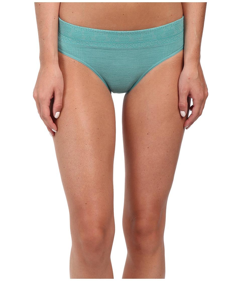 Smartwool - PhD Seamless Mid Rise Bikini (Canton) Women