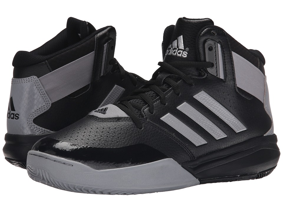 adidas - Outrival 2 (Black/Light Onix/Silver Metallic) Men's Basketball Shoes