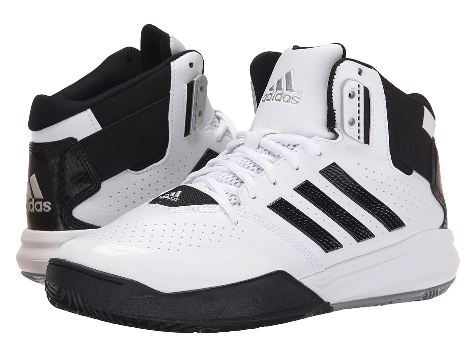 adidas - Outrival 2 (White/Black/Silver Metallic) Men's Basketball Shoes