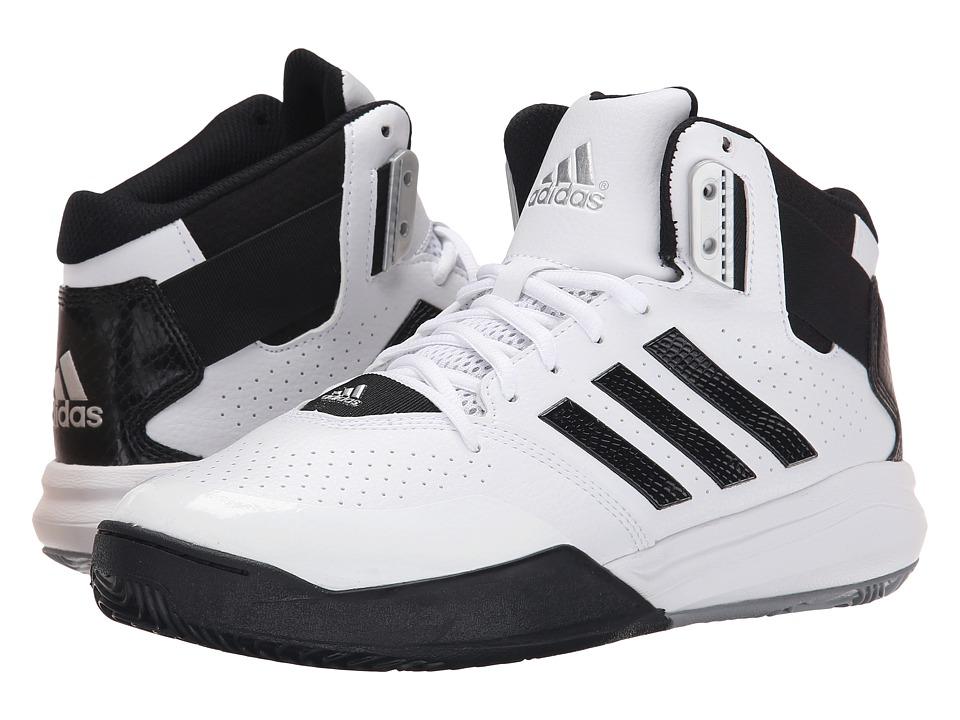 adidas - Outrival 2 (White/Black/Silver Metallic) Men's Basketball Shoes