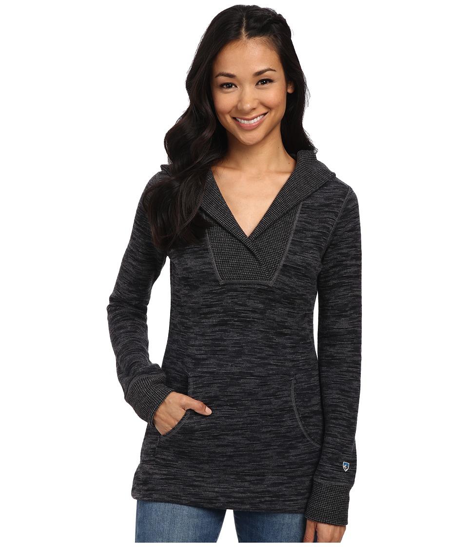 KUHL - Isla Hoodie (Raven) Women's Long Sleeve Pullover