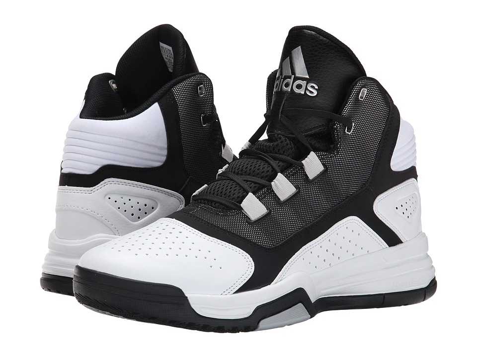 adidas - Amplify (White/Black/Silver Metallic) Men
