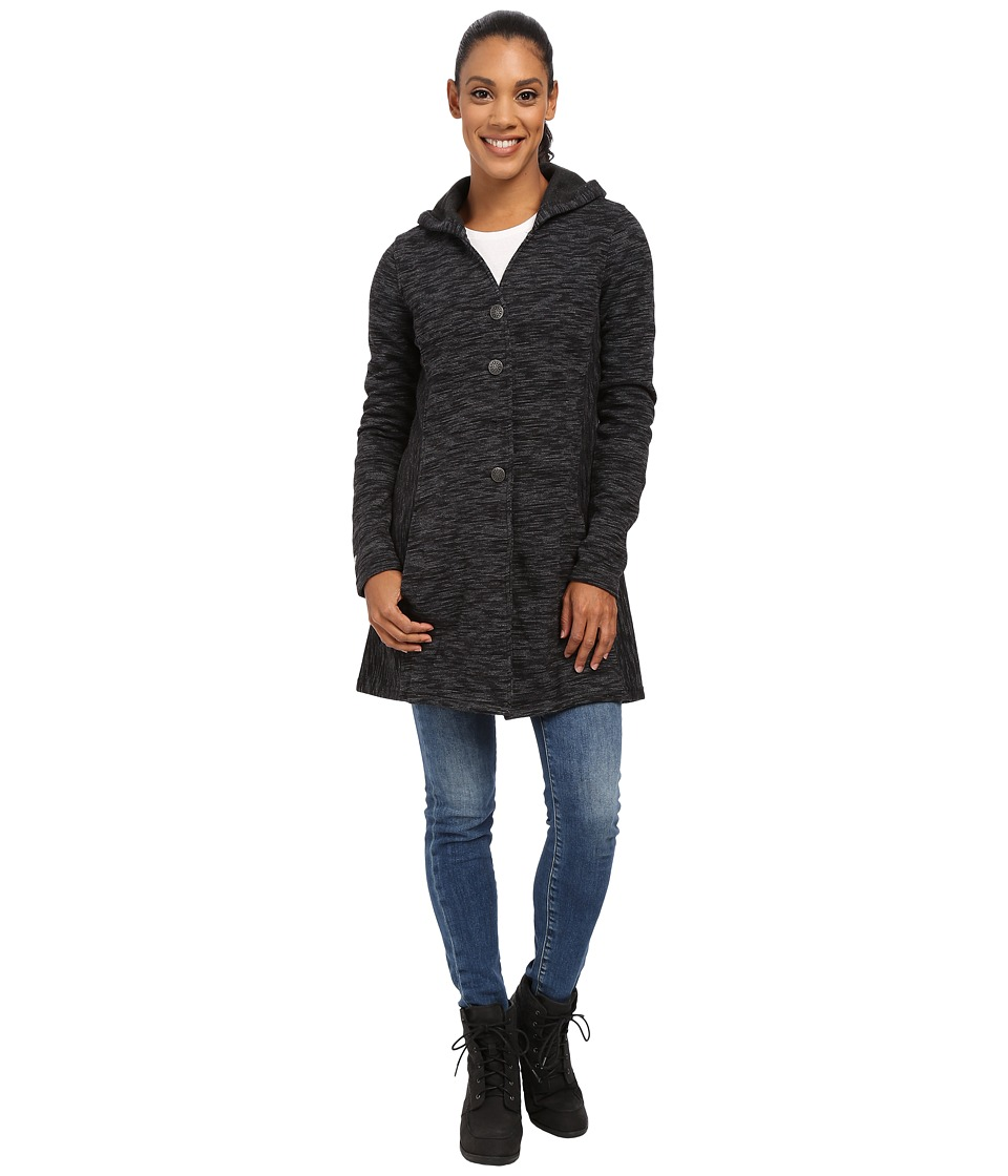 KUHL - Isla Long Coat (Raven) Women's Coat