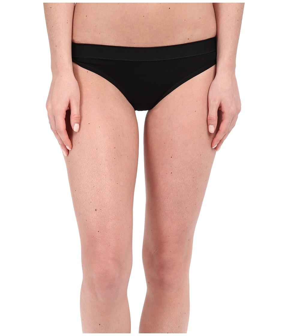 Smartwool - NTS Micro 150 Thong (Black) Women's Underwear