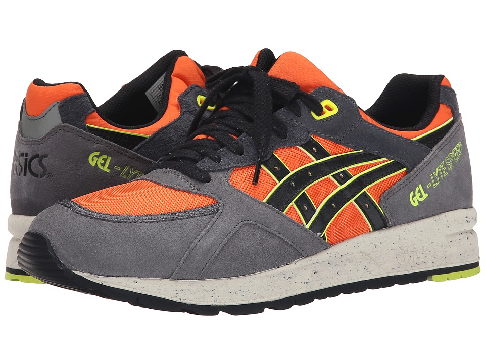 ASICS Tiger - Gel-Lyte Speed (Orange/Dark Grey) Shoes