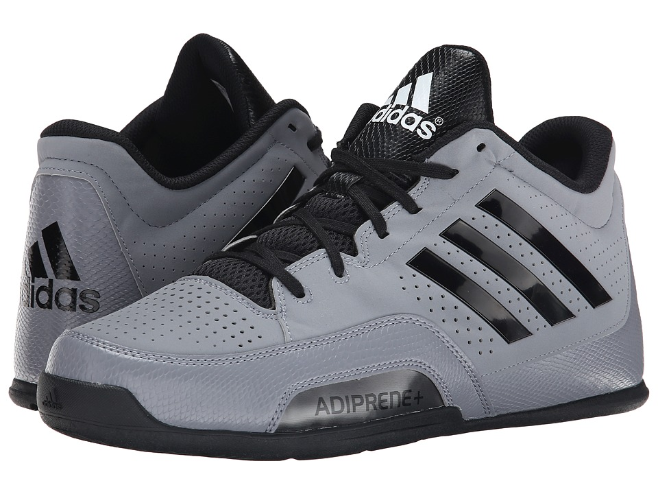 adidas - 3 Series 2015 (Grey/Black/White) Men's Basketball Shoes