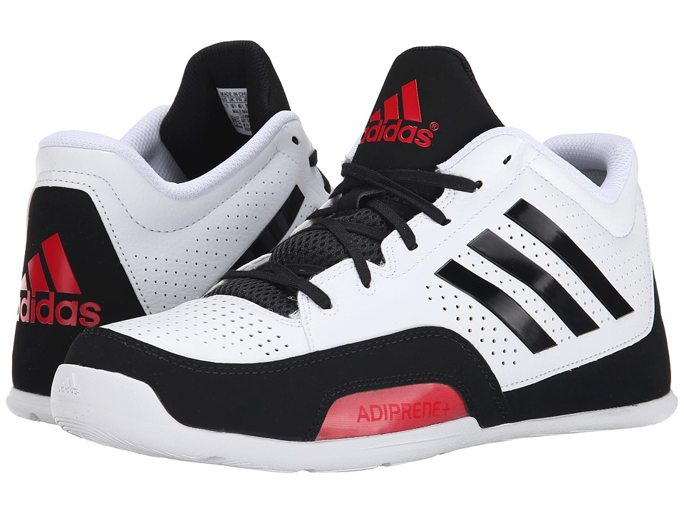 adidas - 3 Series 2015 (White/Black/Scarlet) Men's Basketball Shoes