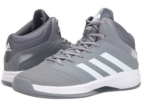 adidas - Isolation 2 (Grey/White/Onix) Men's Basketball Shoes