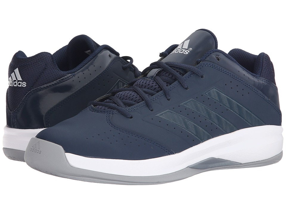 adidas - Isolation 2 Low (Collegiate Navy/Light Onix/White) Men's Shoes