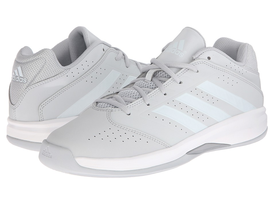 adidas - Isolation 2 Low (Clear Grey/White/Silver Metallic) Men