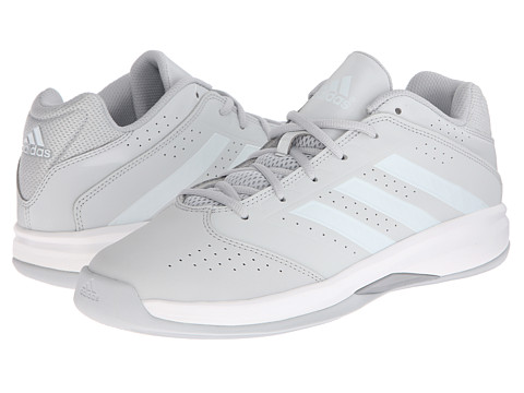 adidas - Isolation 2 Low (Clear Grey/White/Silver Metallic) Men