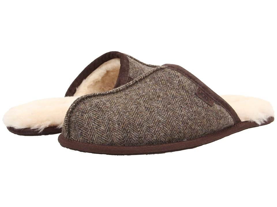 UGG - Scuff Tweed (Stout Tweed) Men's Slippers