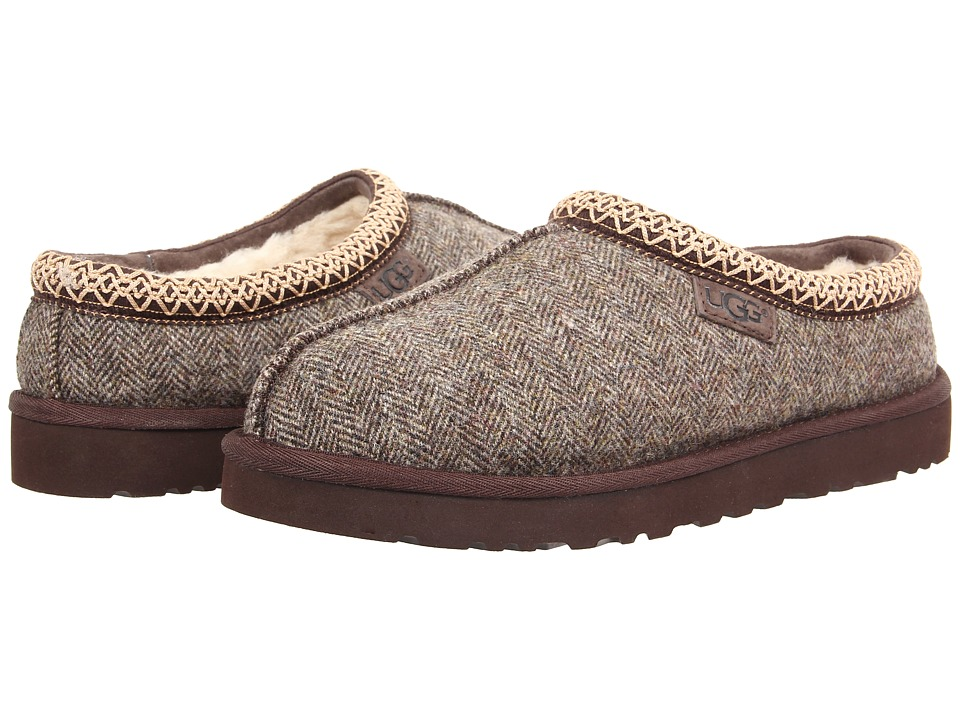 UGG - Tasman Tweed (Stout Tweed) Men's Slippers
