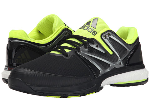 adidas - Stabil Boost (Black/Solar Yellow/White) Men's Shoes