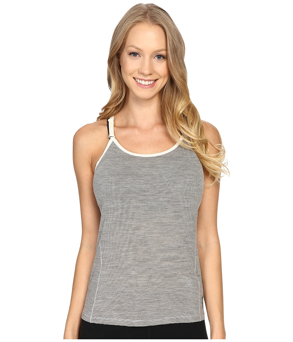 Smartwool - NTS Micro 150 Strappy Pattern Tank Top (Silver Gray Heather) Women's Sleeveless