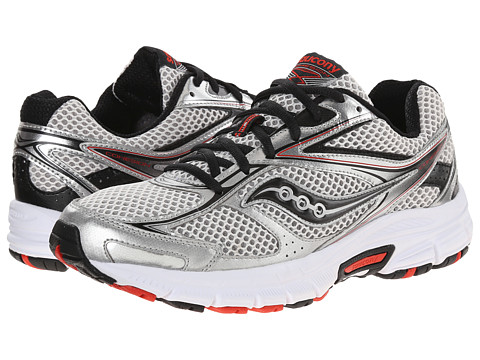 Saucony - Grid Cohesion 8 (Grey/Black/Red) Men