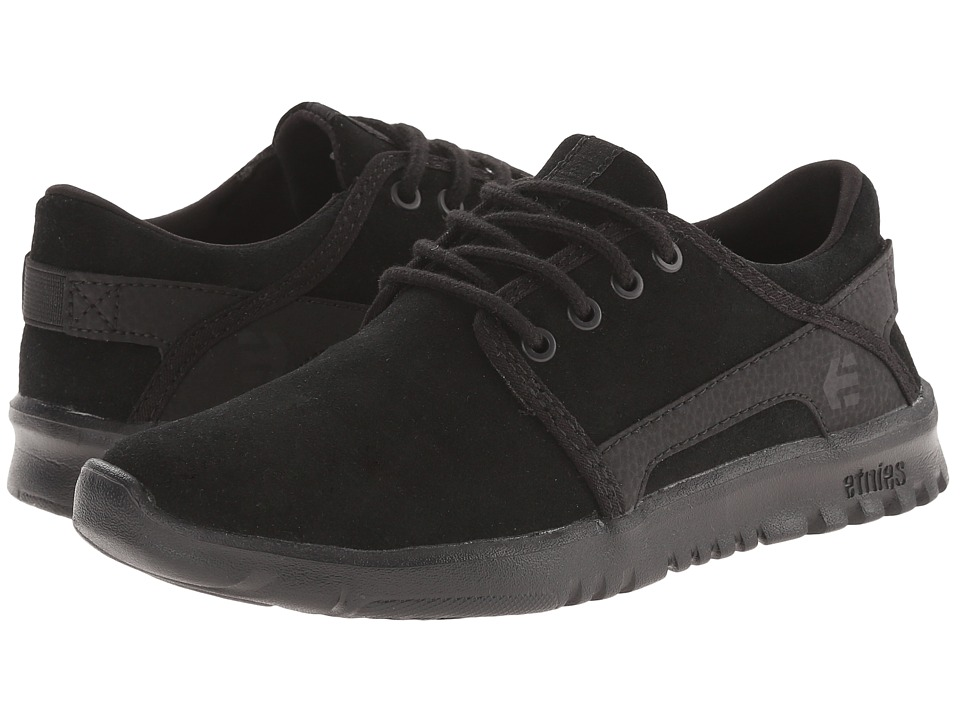 etnies Kids - Scout (Toddler/Little Kid/Big Kid) (Black/Black/Black) Boys Shoes