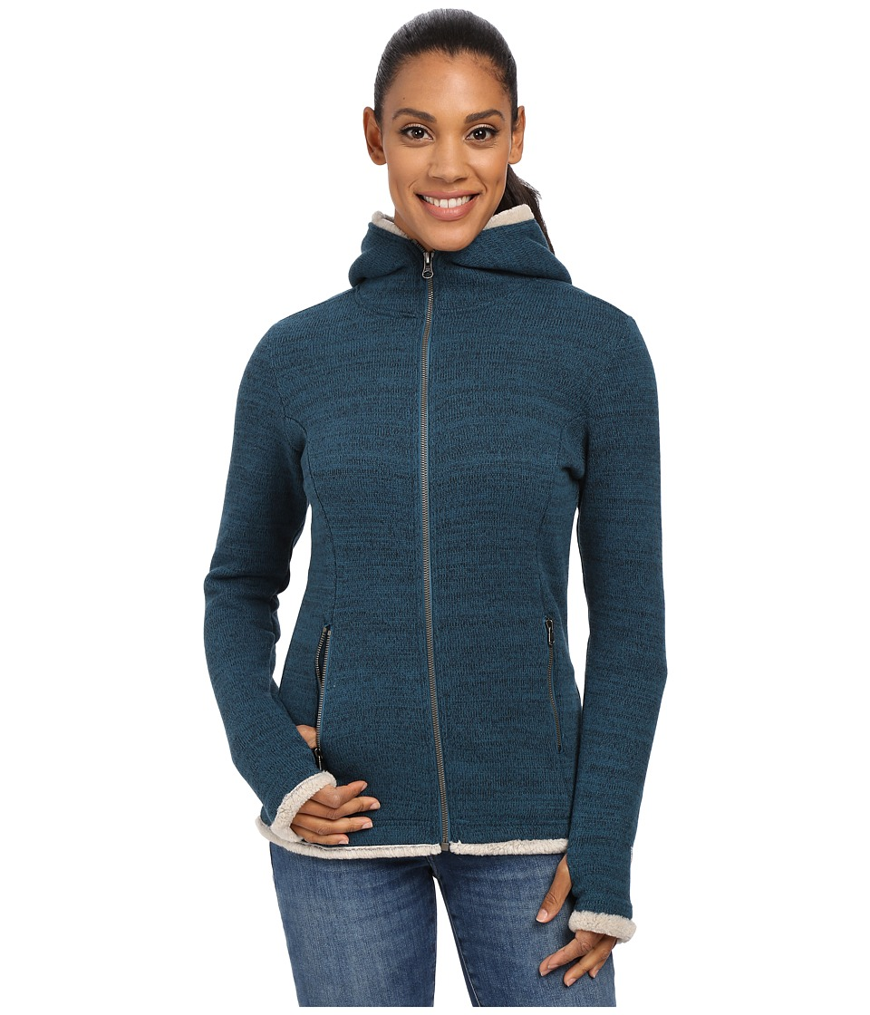 Kuhl - Alska Hoodie (Deep Sea) Women's Sweater