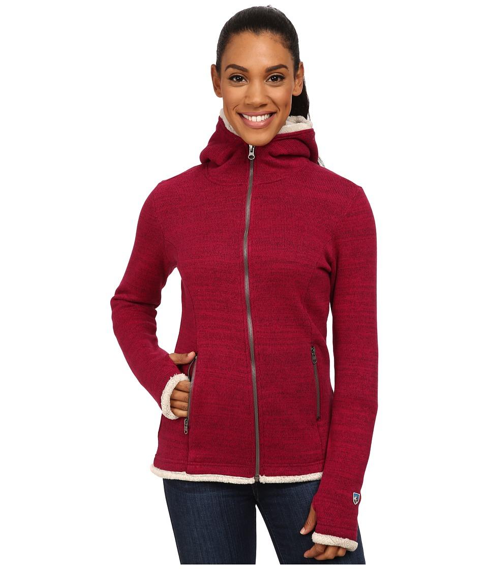 Kuhl - Alska Hoodie (Sangria) Women's Sweater