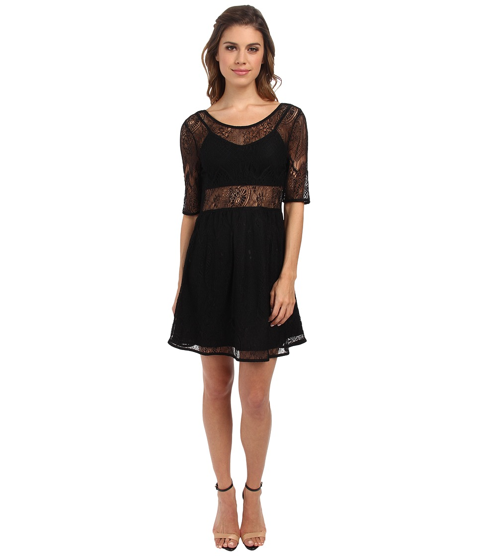 MINKPINK - Meet Me In St.Louis Dress (Black) Women's Dress